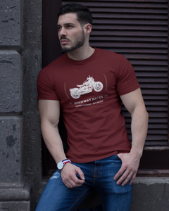 Racer - Men's Half Sleeve T-Shirt - Maroon