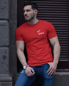 Tees Fashion - Men's Half Sleeve T-Shirt - Red