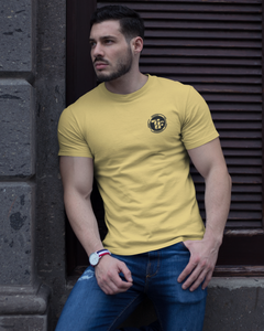 Tees Fashion Impress - Men's Half Sleeve T-Shirt - Yellow
