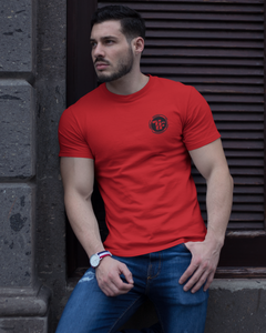 Tees Fashion Impress Dark - Men's Half Sleeve T-Shirt - Red