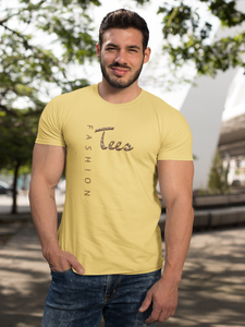 TF Nutty - Men's Half Sleeve T-Shirt - Yellow