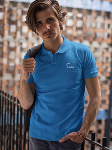Tees Fashion - Men's Polo T-Shirt - Royal Blue