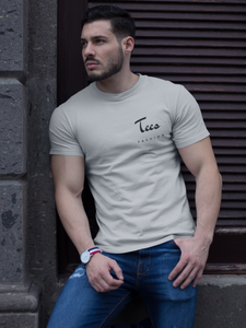 Tees Fashion - Men's Half Sleeve T-Shirt - Grey