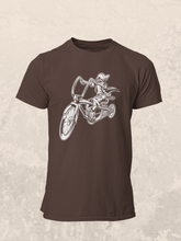 MrK Jinete - Men's Half Sleeve T-Shirt - Brown