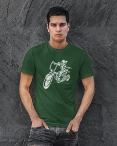 MrK Jinete - Men's Half Sleeve T-Shirt - Green