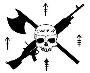 Goons Up Logo Decal
