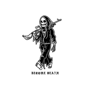 Become Death Sticker