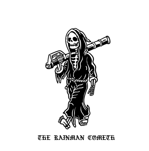 The Rainman Cometh Sticker