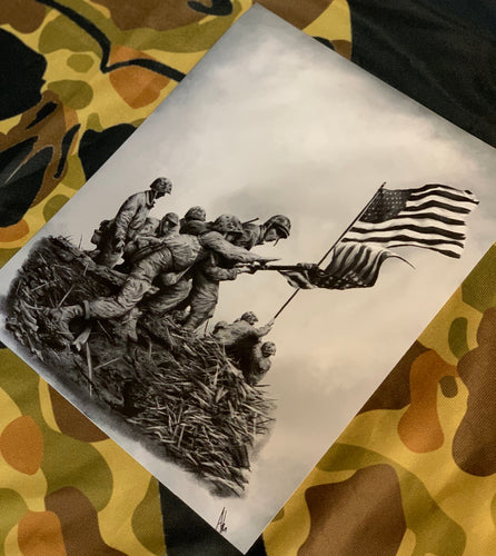 The First Flag Print