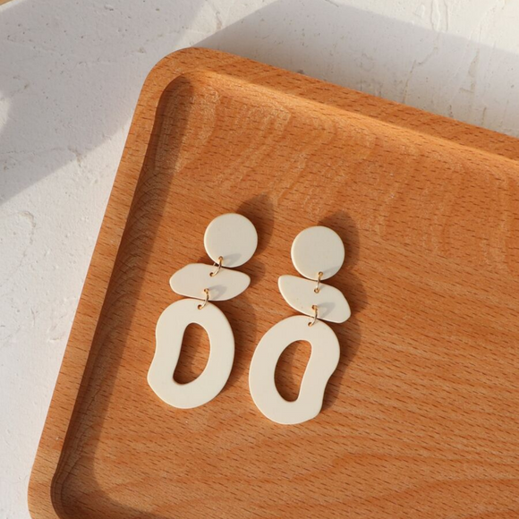 Irregular Geo Earrings