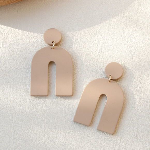 Clay U Design Drop Earrings