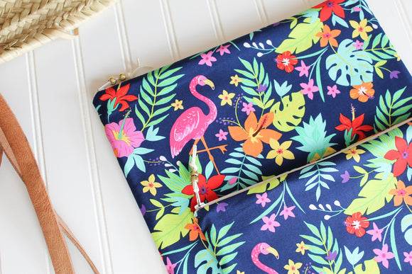 Tropical Flamingo Wet Bag