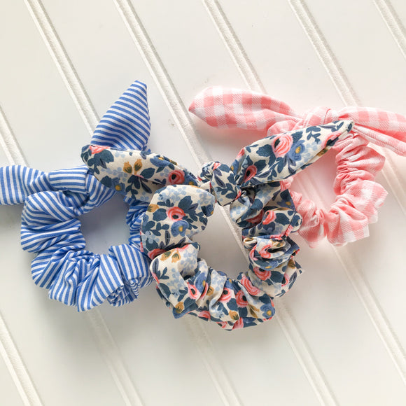 Scrunchie Set - Rifle Paper Co. Rosa Periwinkle