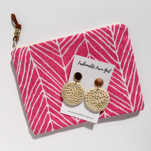 Pink Herringbone Day Brightener Bundle