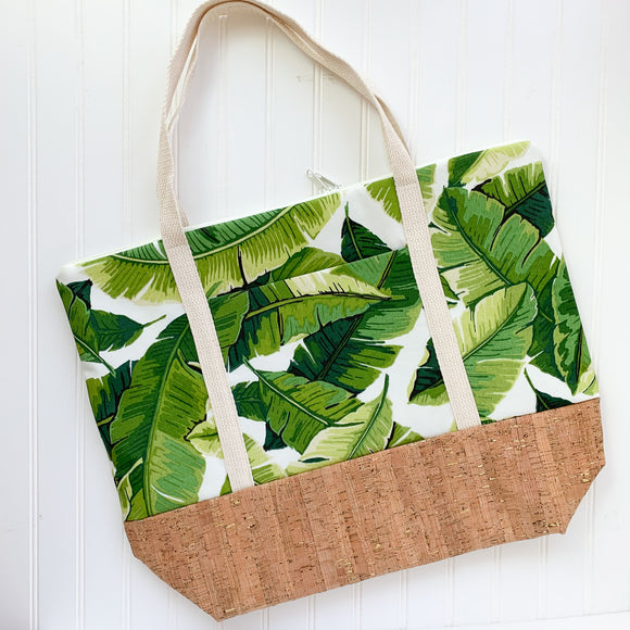 Tote Bag - Palm Leaf