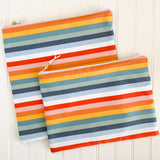 Rainbow Stripe Wet Bag