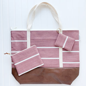 Tote Bag Bundle - Dusty Rose