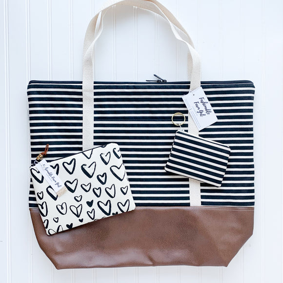 Tote Bag Bundle - Stripe