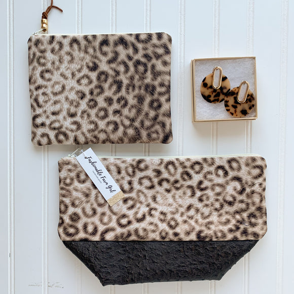 Make Up Bag Bundle - Leopard