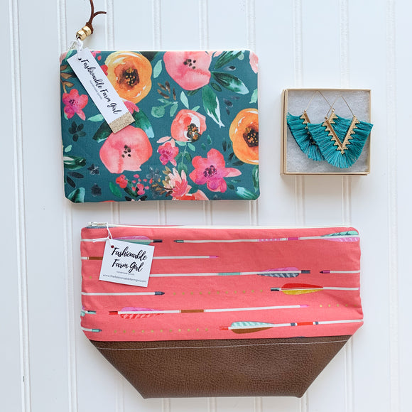 Make Up Bag Bundle - Arrow