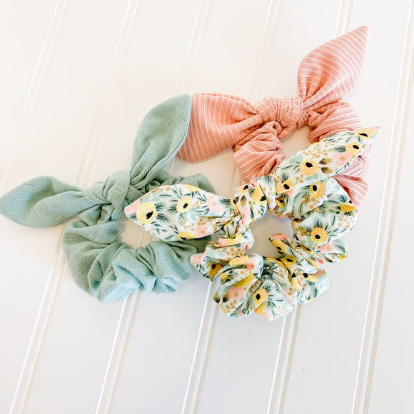 Scrunchie Set - Rifle Paper Co. Rosa Yellow