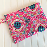 Wet Bag - Bright Ikat