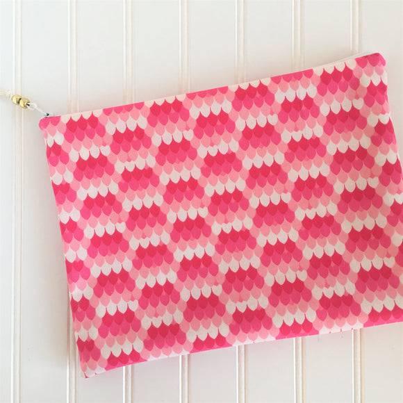 Pink Mermaid Wet Bag
