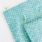 Teal Mermaid Wet Bag