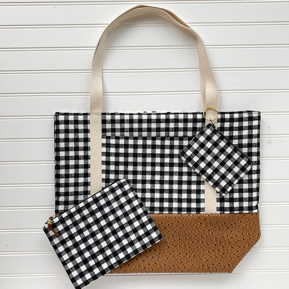 Tote Bag Bundle - Gingham