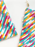 Neon Stripe Wet Bag