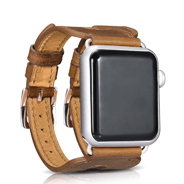 Double Buckle Watch Band