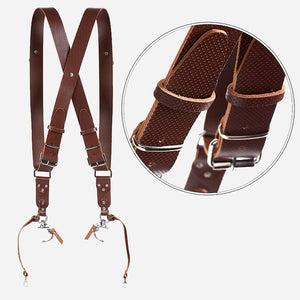 X Edition Camera Strap | Genuine Leather Camera Harness