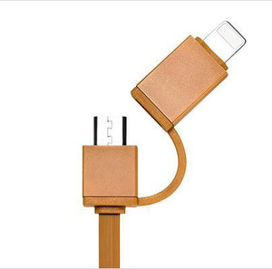 Extensible Cable Lightning + Micro USB