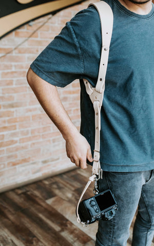 ALL in ONE Camera Strap | Genuine Leather Camera Harness