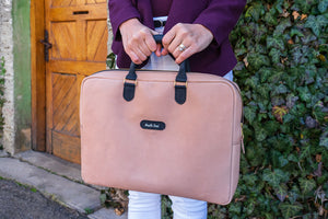 Leather Handbag - Laptop bag