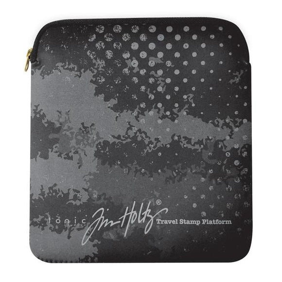 Tim Holtz - Travel Stamp Platform Protective Sleeve | Serendipity Craft Boutique