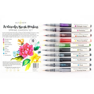 Altenew Watercolor Brush Markers - Spring Garden Set  | Serendipity Craft Boutique