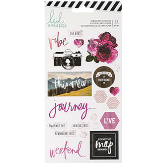 Heidi Swapp  Hawthorne Cardstock Stickers | Serendipity Craft Boutique