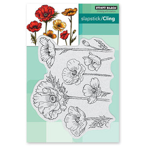 Penny Black Parade of Flowers Stamp Set  | Serendipity Craft Boutique