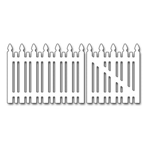 Penny Black Picket Fence Die Set | Serendipity Craft Boutique