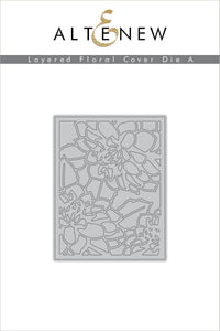 Layered Floral Cover Die A | Serendipity Craft Boutique