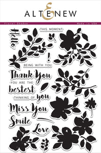 Altenew Floral Shadow  Stamp Set | Serendipity Craft Boutique