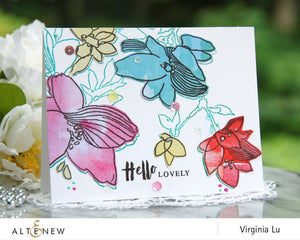 Altenew Sketchy Floral Stamp Set| Serendipity Craft Boutique