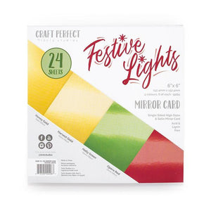 Tonic Studio Craft Perfect - 6x6 Card Packs - Festive lights | Serendipity Craft Boutique