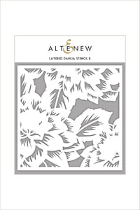 Altenew Layered Dahlia Stencil B| Serendipity Craft Boutique