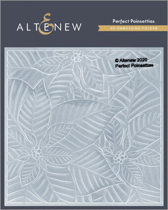 Altenew Perfect Poinsettias 3D Embossing Folder | Serendipity Craft Boutique