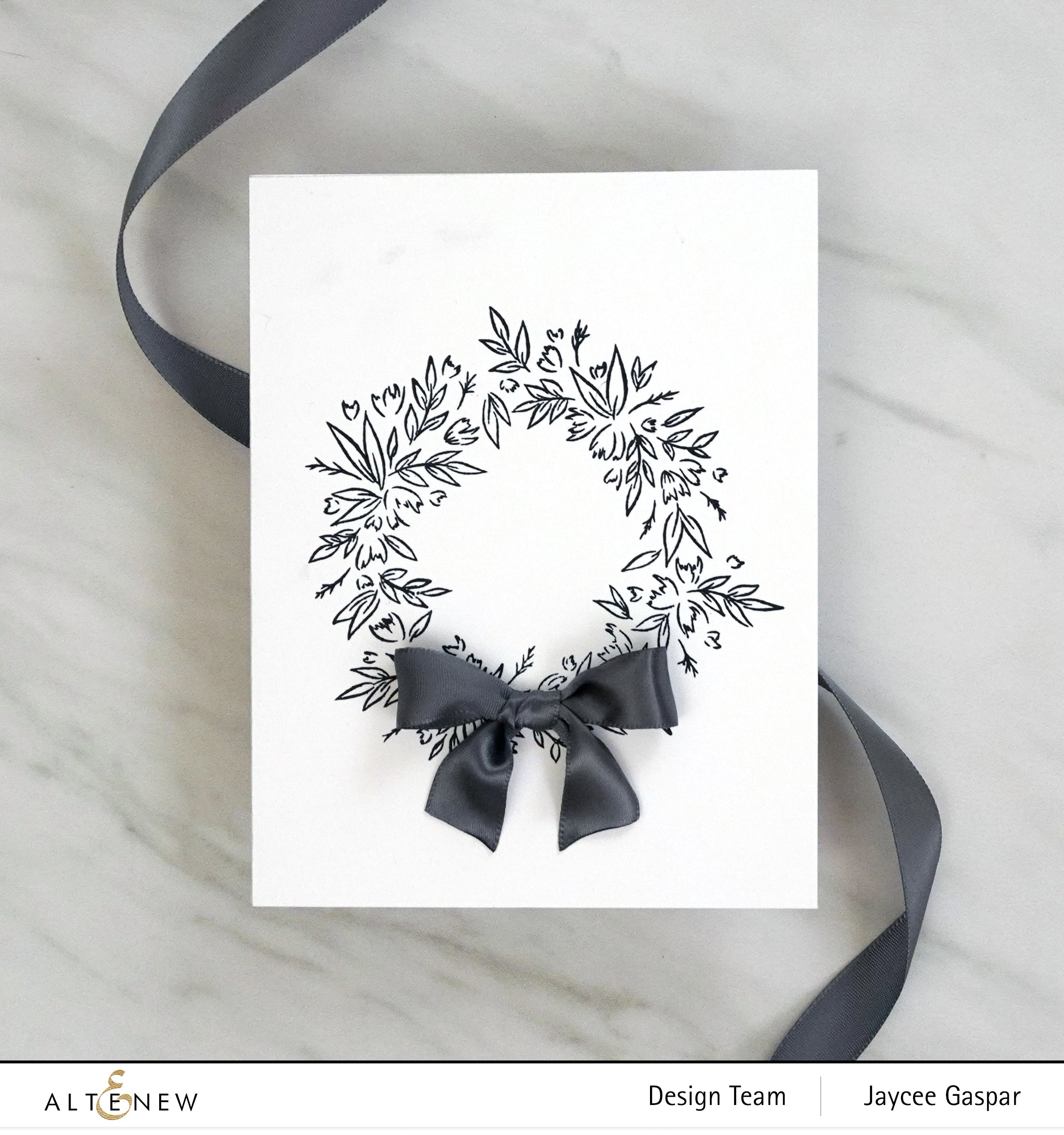 Altenew Blossom Wreath Stamp Set | Serendipity Craft Boutique
