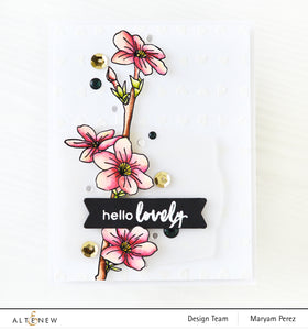 Altenew Teeny Hearts Stencil | Serendipity Craft Boutique