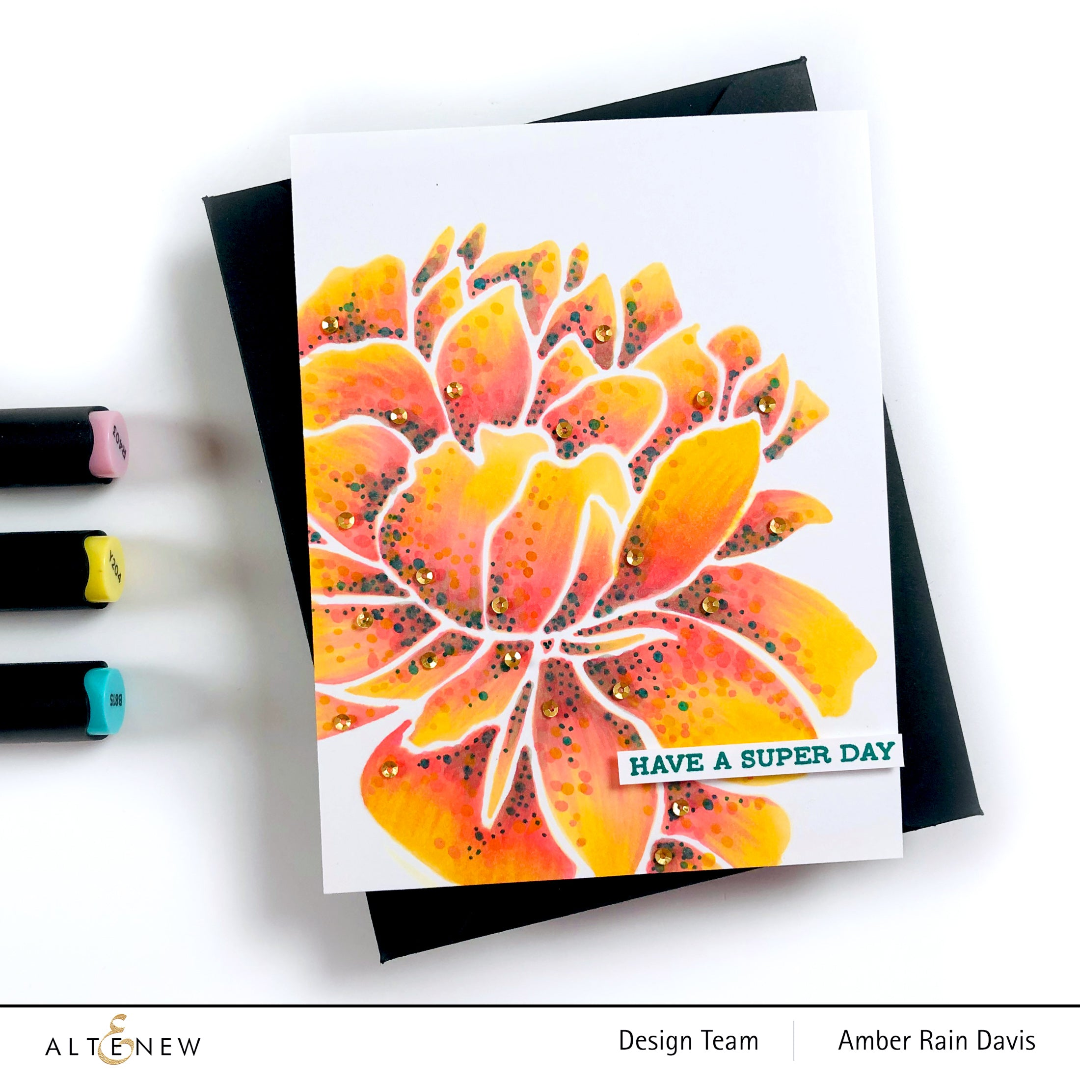 Altenew  Mega Bloom Stencil | Serendipity Craft Boutique