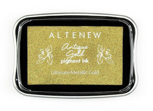 Altenew Antique Gold Pigment Ink | Serendipity Craft Boutique